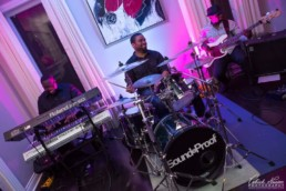 SoundProof playing at a private event
